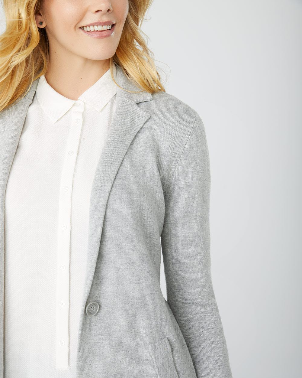 C&G Long cardigan blazer