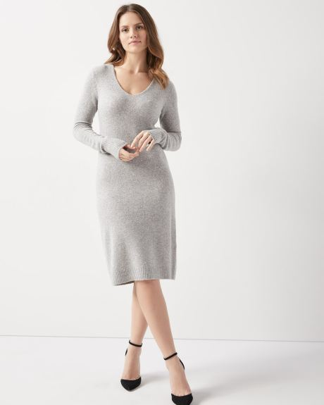 Straight fit sweater dress