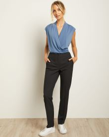 Two-Tone Signature Fit Slim Leg Pant