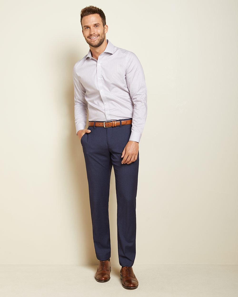 Tailored fit dark blue City Pant - 30''