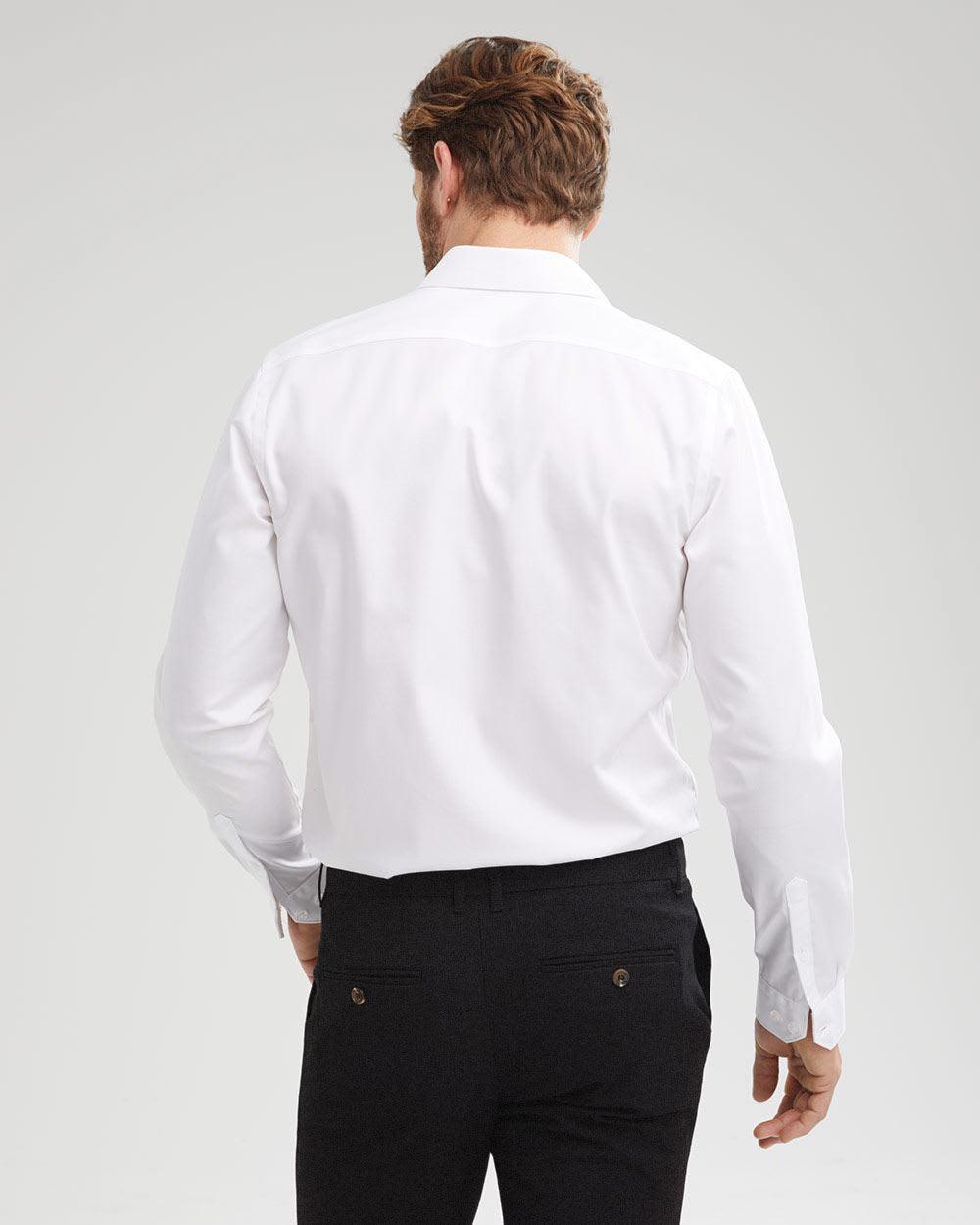 Tailored Fit Solid Dress Shirt Tall Rwco