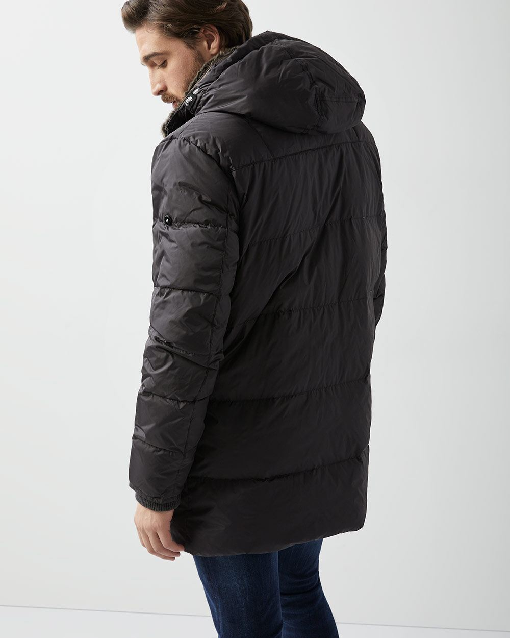 9b6bd8b0c OOKPIK Cormoran Down hooded parka jacket