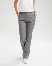 Birdseye High-Waist Signature Fit Flare Leg Pant