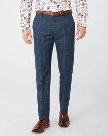 Tailored Fit windowpane suit pant