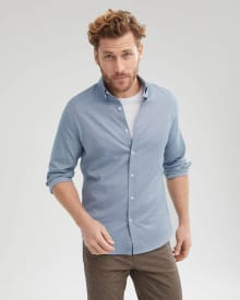 Tailored Fit Buttoned-Down Collar Shirt