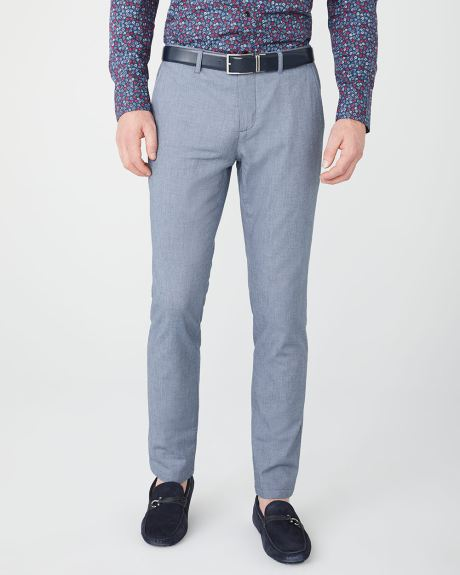 Slim Fit Chambray pant - 30''