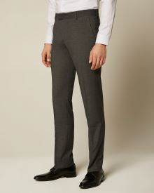 Essential Tailored Fit Dark Grey suit Pant