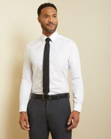 Slim fit Tuxedo dress shirt