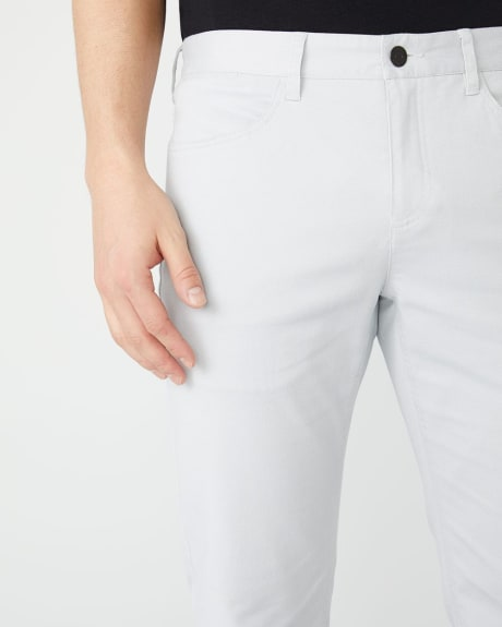 Straight Fit 5-pocket pant - 30''