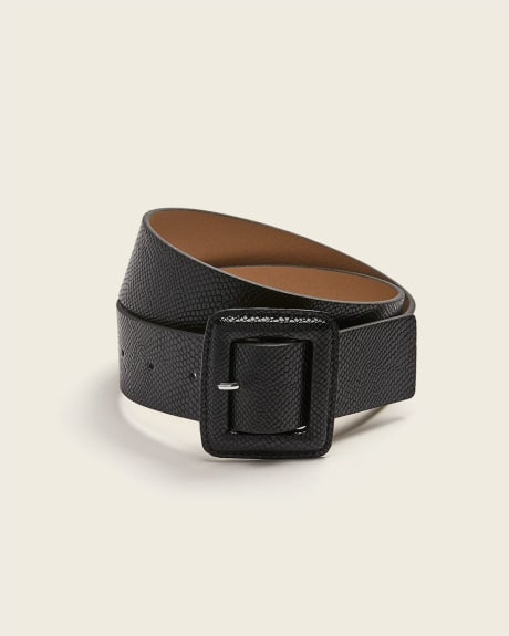 reptile-like wide belt
