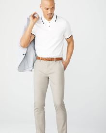 Slim fit beige City Pant