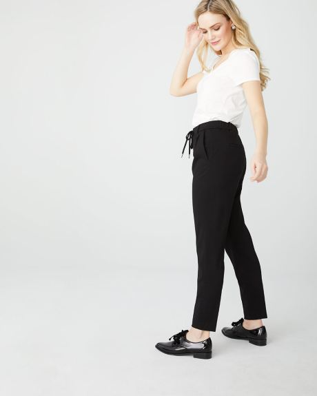 C&G Pleated pant with drawcord