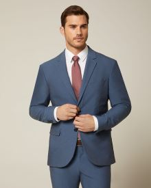 Athletic Fit E-Tech (TM) suit Blazer