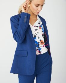 Fitted Cobalt Blue Blazer