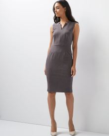 Two-tone Everyday Stretch sleeveless dress