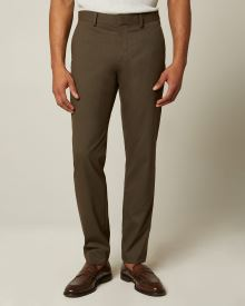 Slim fit green City Pant