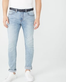Slim leg Light Wash Jeans