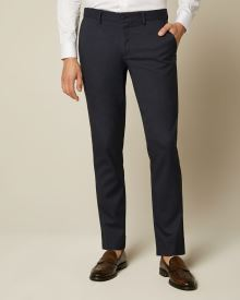 Slim Fit Easy Pant in Navy