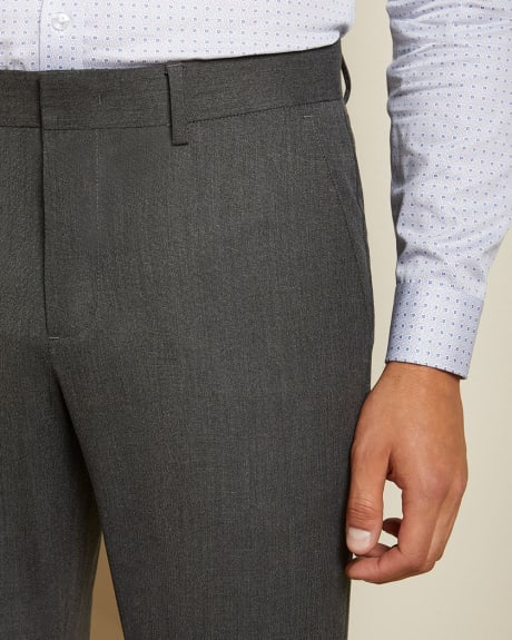 Slim fit stretch charcoal City Pant