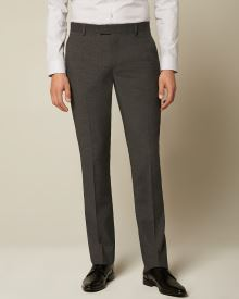 Essential Tailored Fit Dark Grey suit Pant - 30''