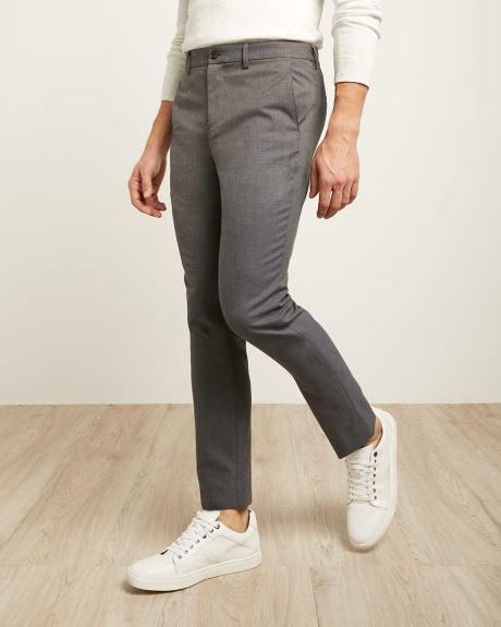 Slim Fit Blue Grey Easy Pant