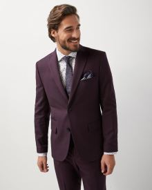 Tailored fit two-tone blazer