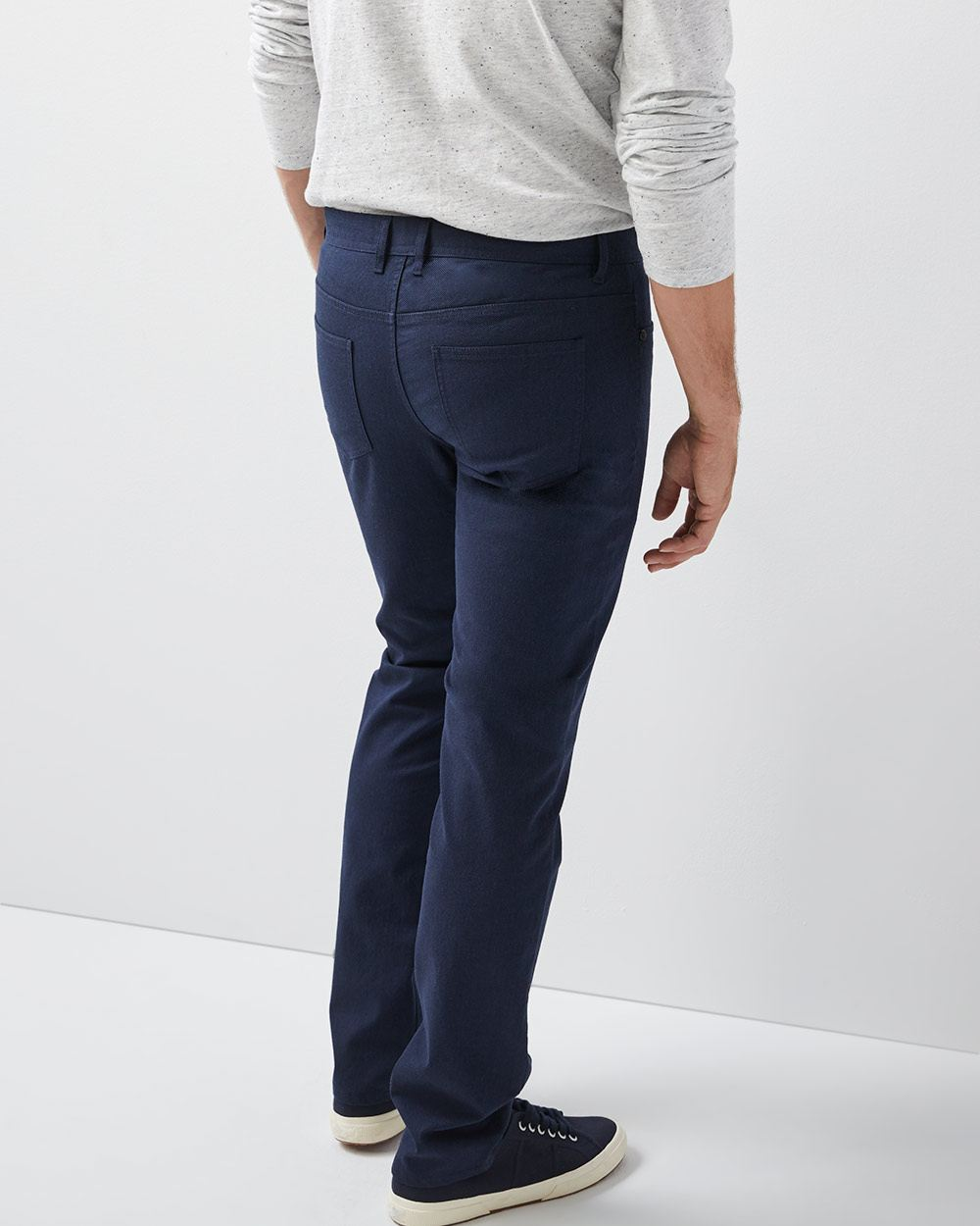 Slim fit Textured 5-pocket pant - 34''