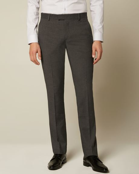 Essential Tailored Fit Dark Grey suit Pant - Short