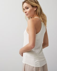 Stretch knit Racerback cami