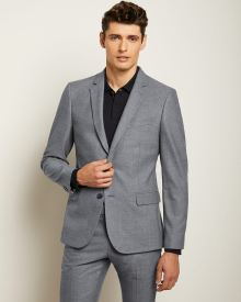 Slim Fit Light Blue 40-hour Suit Blazer