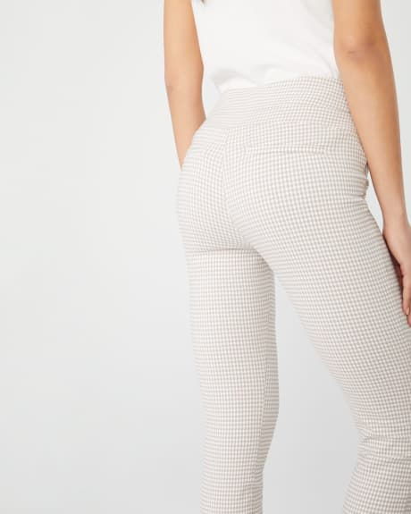 C&G Pantalon Legging citadin court à carreaux vichy - 25''