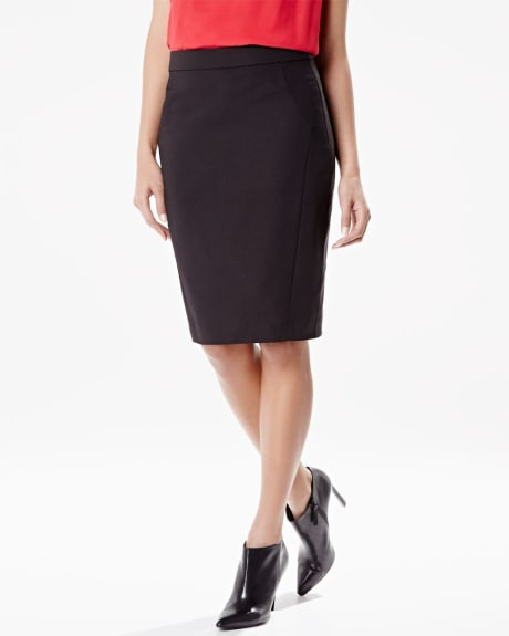 tailored modern chic pencil skirt rw co
