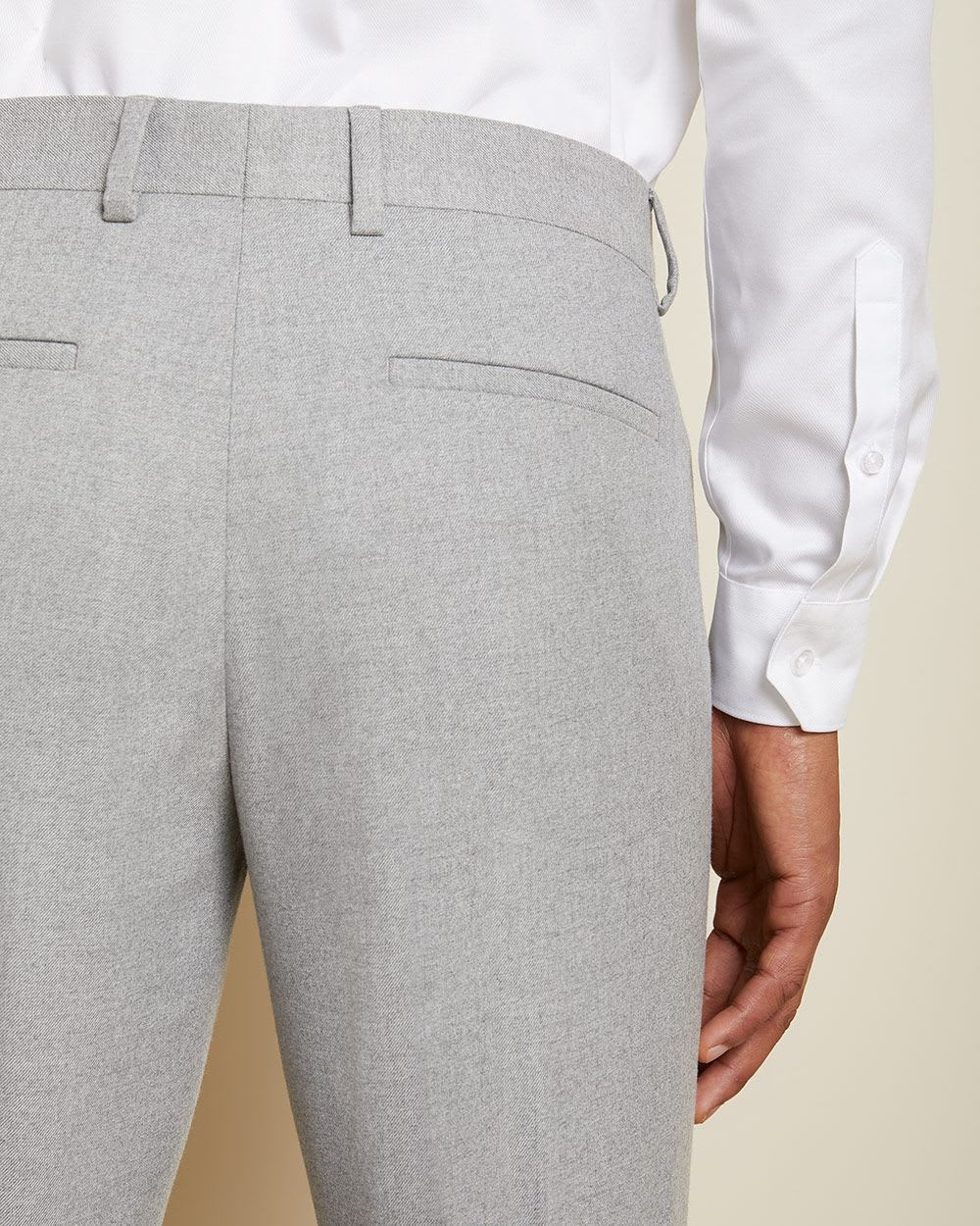 Tailored fit twisted yarn 40-hour suit pant
