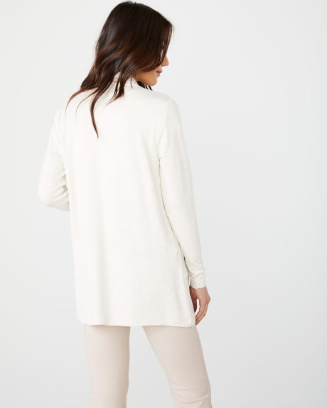 C&G French Terry open-front cardigan