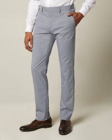 Slim fit Marled Blue City Pant
