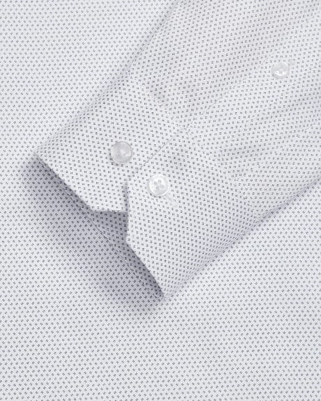 Slim Fit micro stripe dress shirt