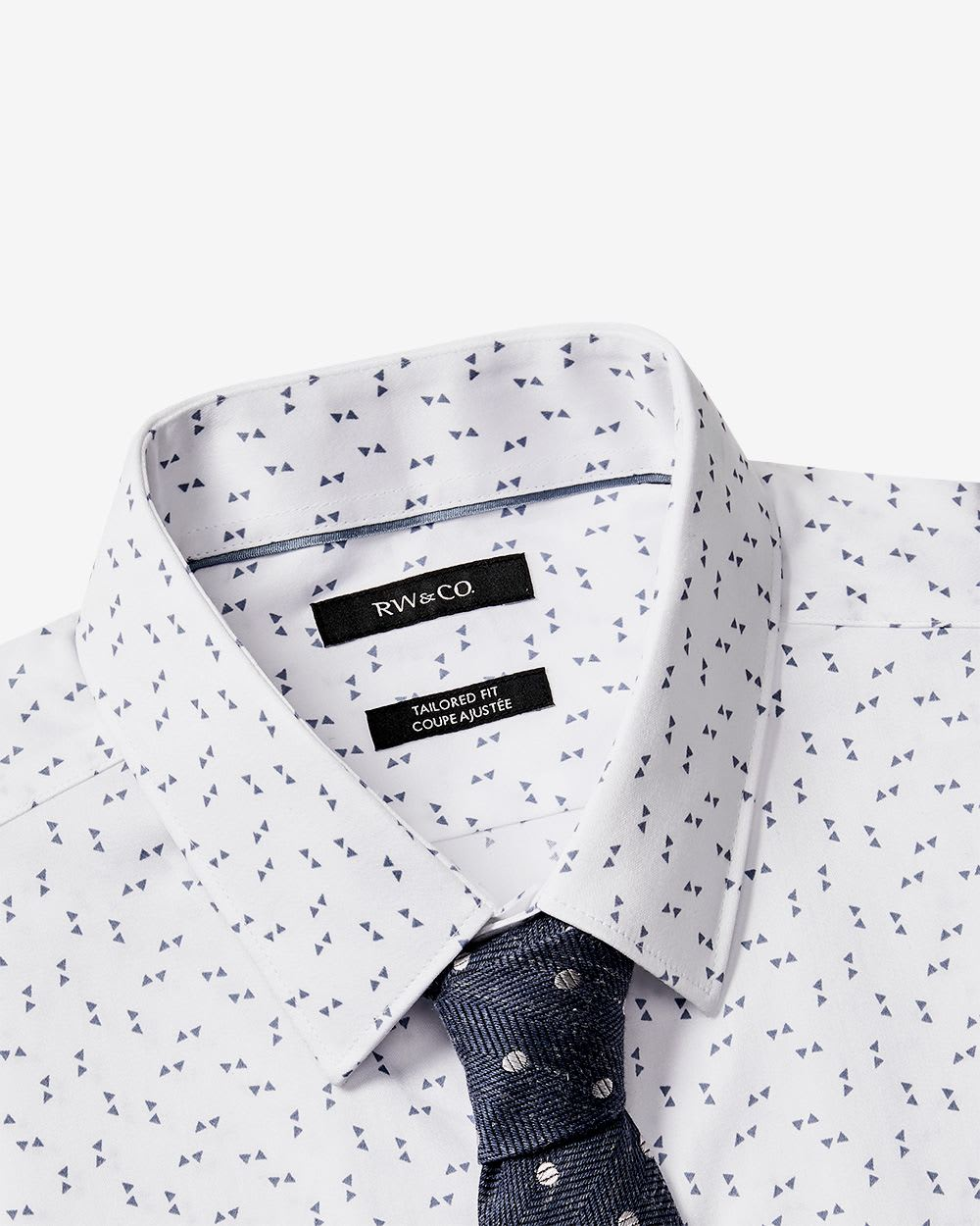Tailored Fit Triangle Dress Shirt