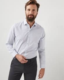 Tailored fit small clipping dress shirt - Short