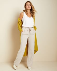 C&G High-waist wide leg pant