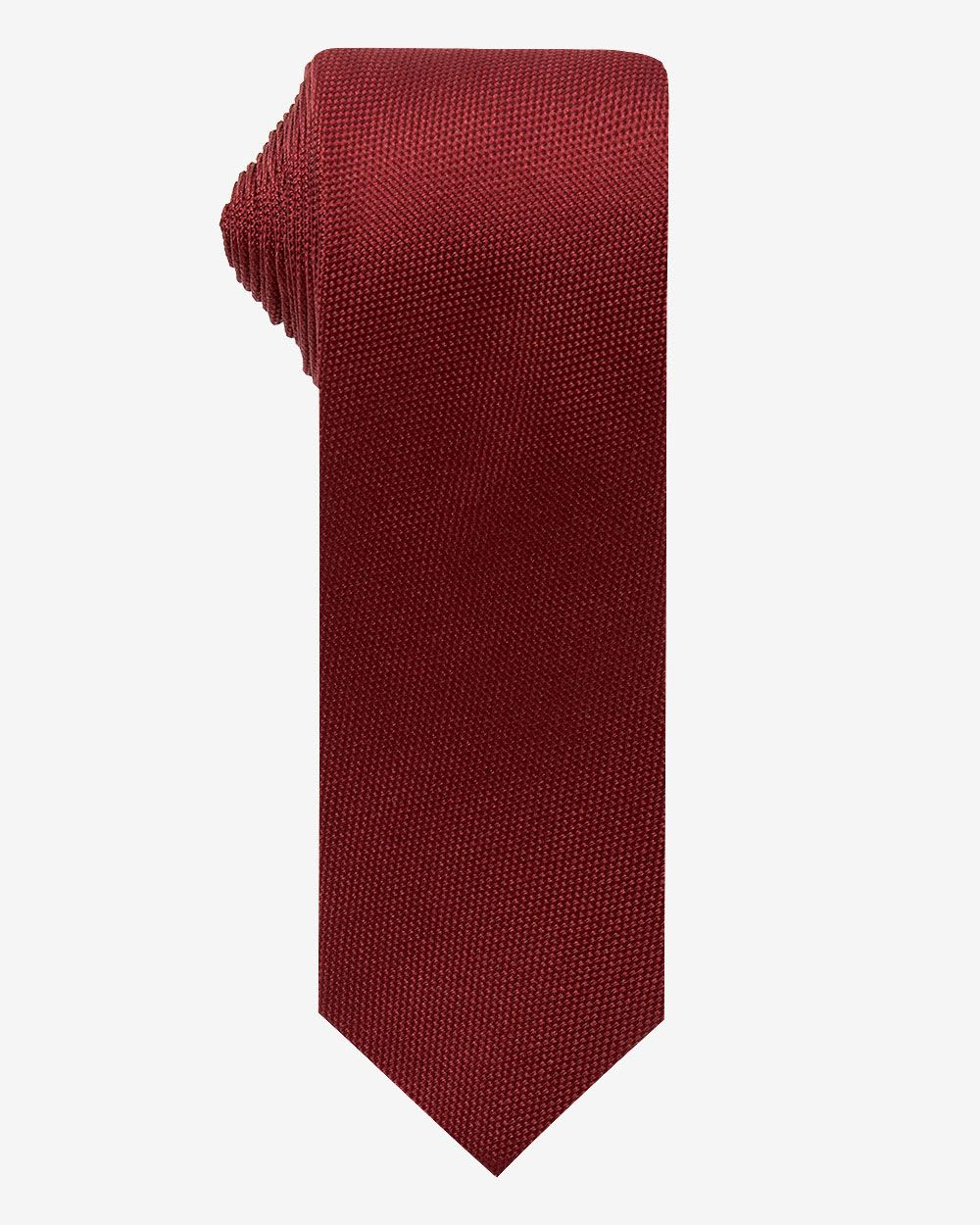 Regular Dark Red Tie