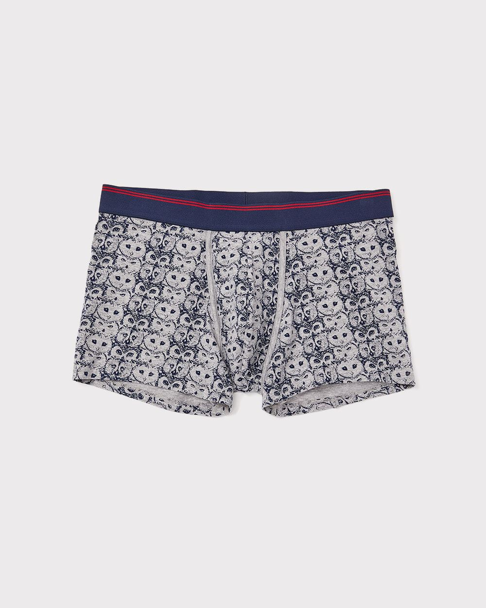 Printed Boxer Trunk