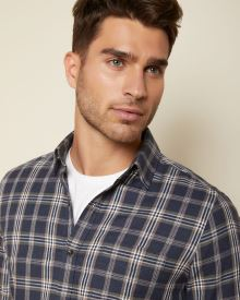 Slim Fit checkered Flannel Shirt