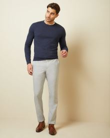 Slim fit light grey City Pant