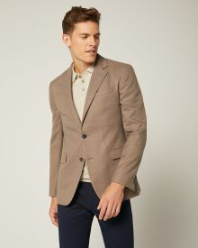 Slim Fit Nepped Blazer