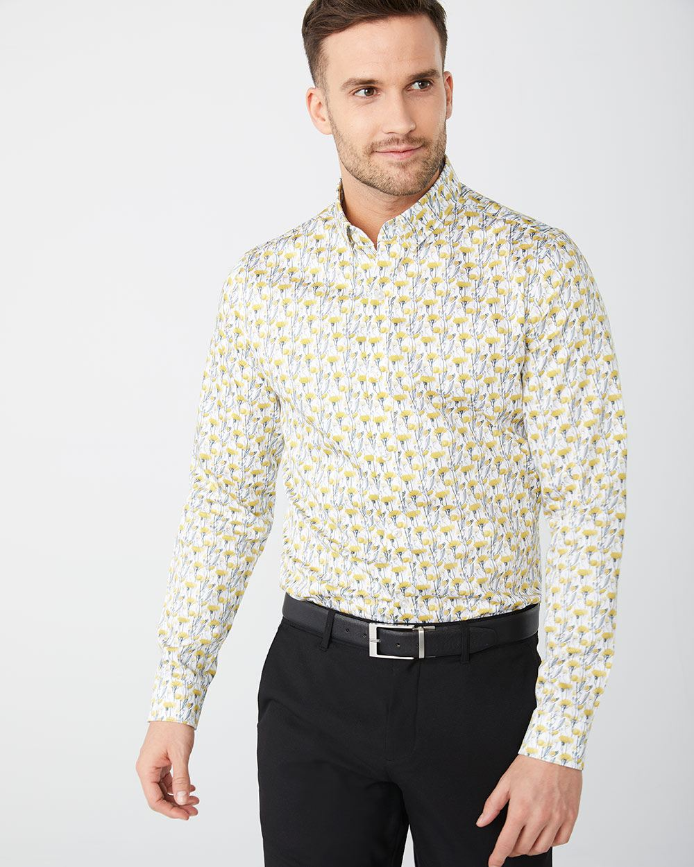 8cbb95070 Slim Fit dandelion dress shirt   RW&CO.