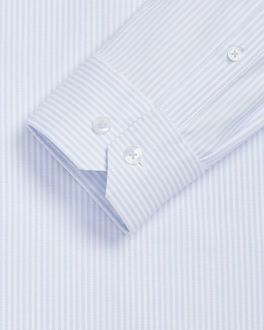 Slim Fit striped performance dress shirt