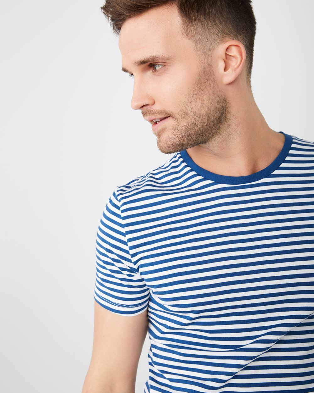 66ac726e92 Nautical Stripe crew-neck t-shirt | RW&CO.