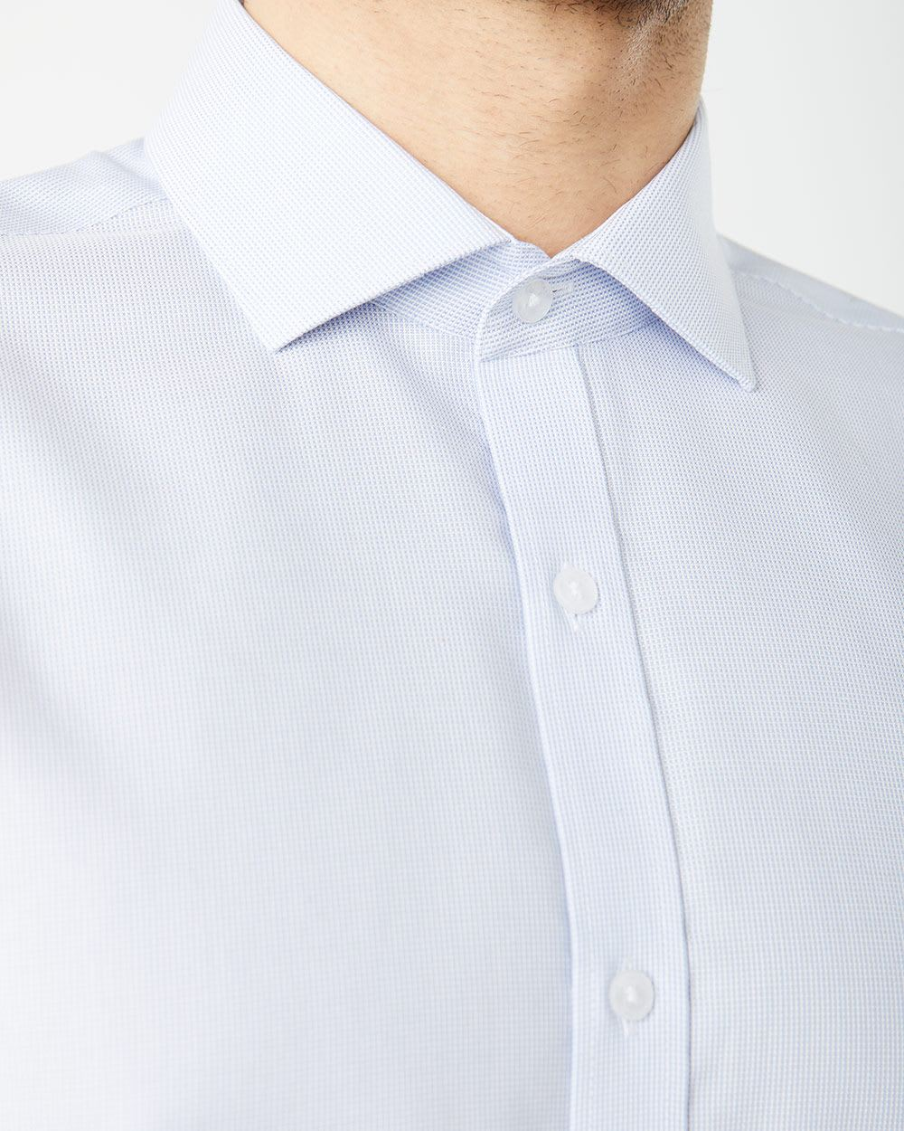 Athletic Fit light blue Dress Shirt