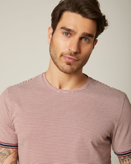 Striped Crew-neck t-shirt