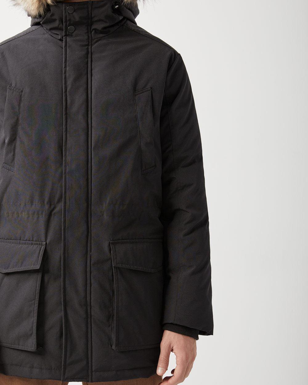35fc0c299 Down hooded parka jacket